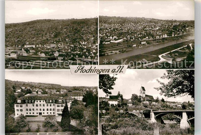 AK / Ansichtskarte Plochingen Panorama Stadtansichten Kat. Plochingen