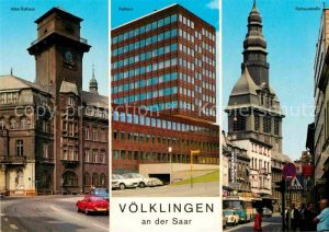 AK / Ansichtskarte Voelklingen Rathaus Altes Rathaus Rathausstrasse  Kat. Voelklingen