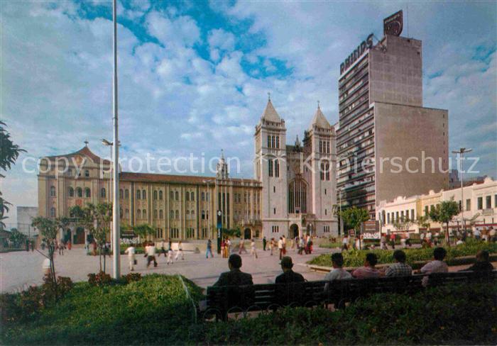 AK / Ansichtskarte Sao Paulo Largo Sao Bento Estacao do Metro  Kat. Sao Paulo