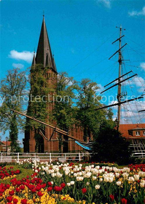 AK / Ansichtskarte Papenburg Ems St. Antonius