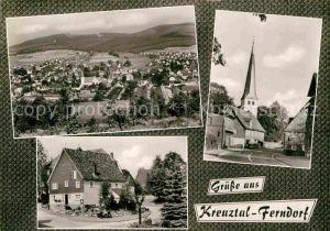AK / Ansichtskarte Ferndorf Kreuztal Ortsansichten  Kat. Kreuztal