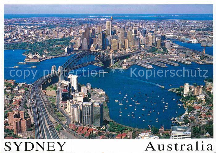 AK / Ansichtskarte Sydney New South Wales Fliegeraufnahme Kat. Sydney