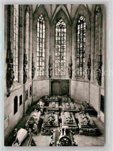 AK / Ansichtskarte Tuebingen Neckar Chor der Ev Stiftskirche zu St Georg Grablege der wuertt Regenten