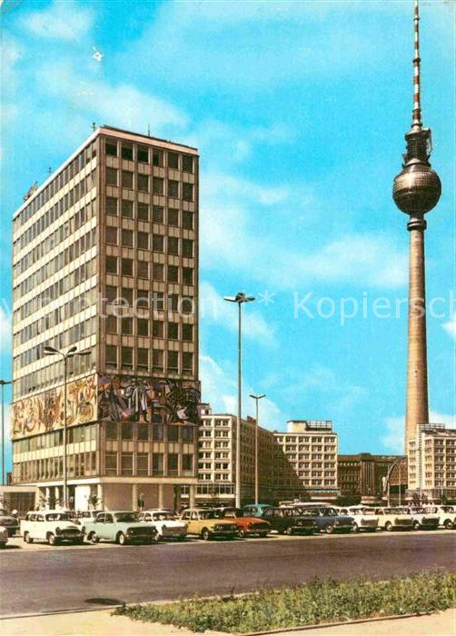 AK / Ansichtskarte Berlin Haus des Lehrers  Kat. Berlin