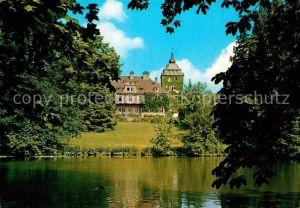 AK / Ansichtskarte Haus Lerbach Bergisch Gladbach Ehemaliges Herrenhaus Englischer Landschaftspark Hotel Schloss Lerbach