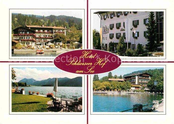 AK / Ansichtskarte Schliersee Hotel Schlierseer Hof Kat. Schliersee