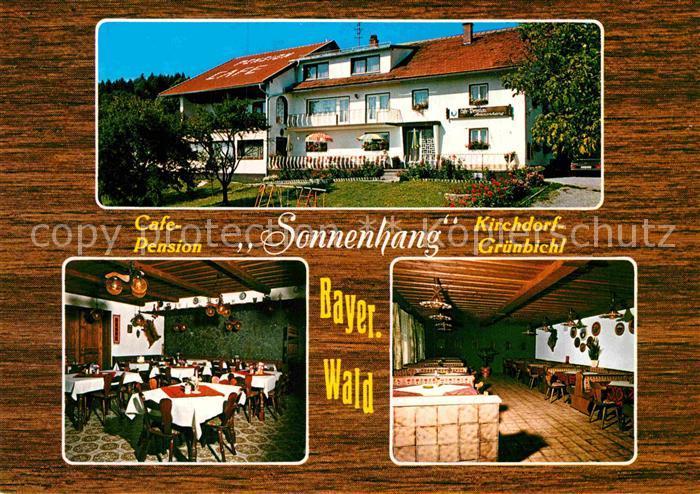 AK / Ansichtskarte Gruenbichl Wald Cafe Pension Sonnenhang  Kat. Kirchdorf i.Wald