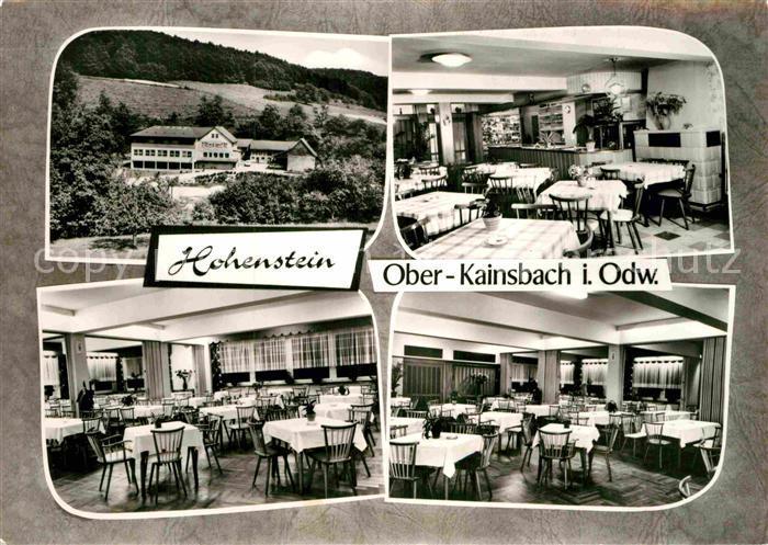 Ober Kainsbach ak ober kainsbach gasthaus hohenstein verschiedene ansichten nr