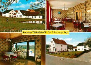 AK / Ansichtskarte Oldendorf Wiehengebirge Pension Tannenhof Kat. Melle