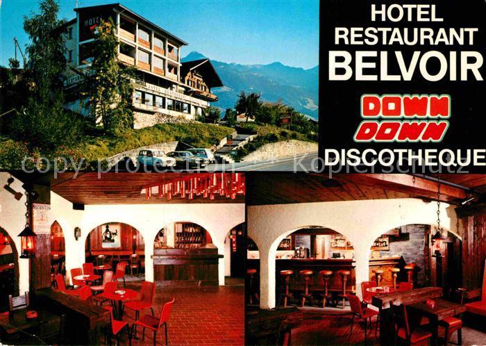 AK / Ansichtskarte Sachseln OW Hotel Belvoir Kat. Sachseln