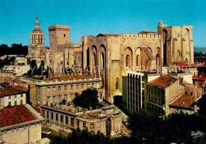 AK / Ansichtskarte Avignon Vaucluse Notre Dame des Doms Palais des Papes Kat. Avignon