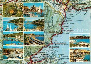 AK / Ansichtskarte Saint Tropez Var Les Issambres St Raphael Frejus  Kat. Saint Tropez