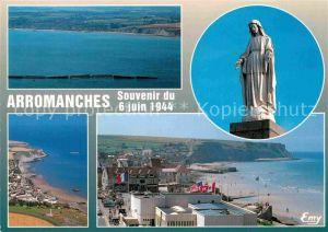 AK / Ansichtskarte Arromanches les Bains Port Winston Notre Dame des Flots  Kat. Arromanches les Bains