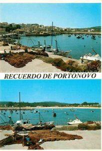AK / Ansichtskarte Portonovo Partie am Hafen