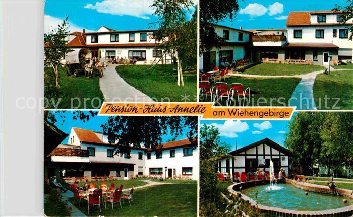 AK / Ansichtskarte Oldendorf Wiehengebirge Pension Haus Annelie Kat. Melle