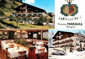 AK / Ansichtskarte Burgeis Fuerstenburg Pension Maraias  Kat.