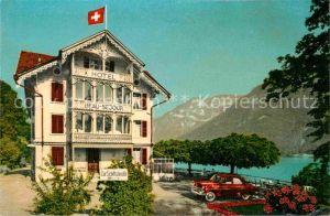 AK / Ansichtskarte Ringgenberg Brienzersee Hotel Beau Sejour