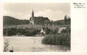 AK / Ansichtskarte Birnau Kloster Bodensee Maurach Kat. Uhldingen Muehlhofen