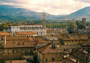 AK / Ansichtskarte Lucca Aussicht vom Guinigi Turm Kat. Lucca