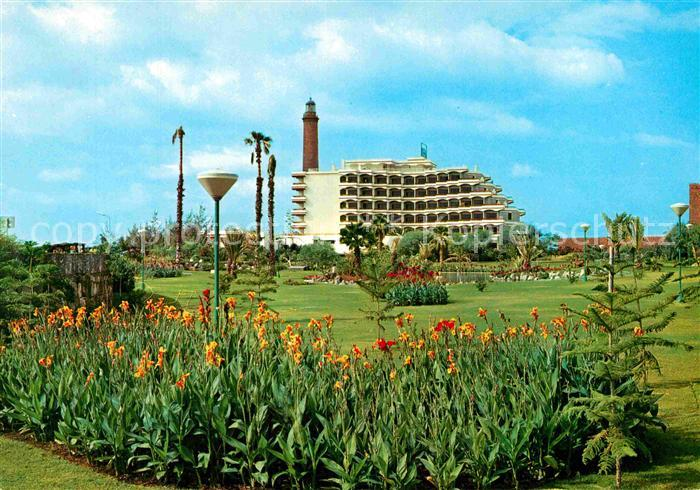 Ak Ansichtskarte Las Palmas Gran Canaria Hotel Faro Maspalomas Kat