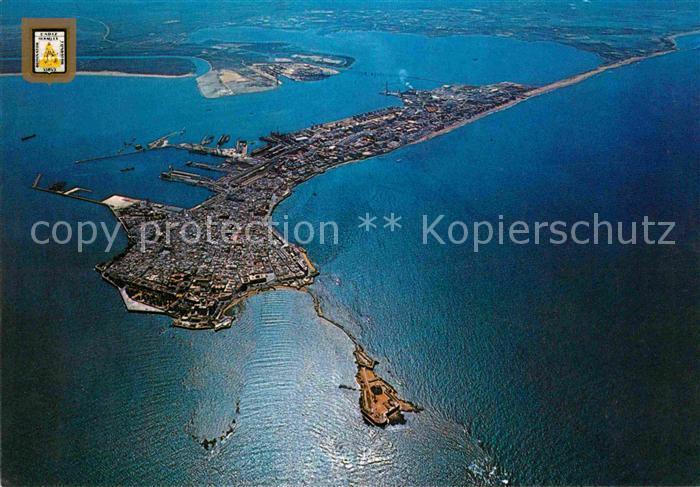 AK / Ansichtskarte Cadiz Andalucia Fliegeraufnahme Kat. Cadiz