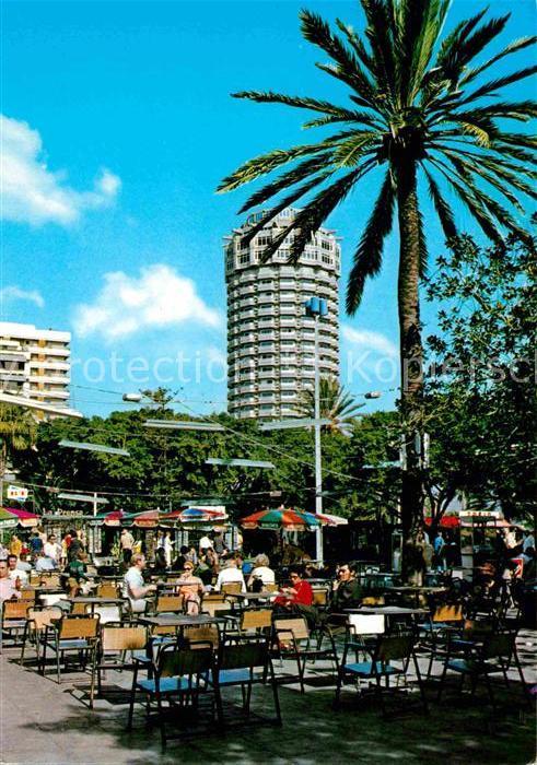 AK / Ansichtskarte Las Palmas Gran Canaria Parque de Santa Catalina Hotel D. Juan Kat. Las Palmas Gran Canaria