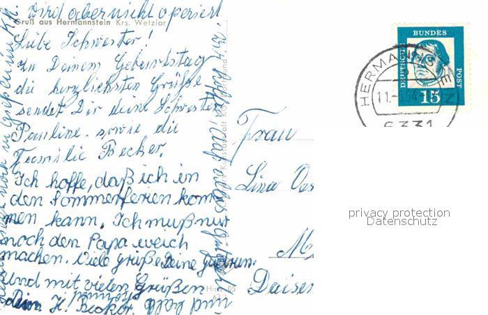 AK / Ansichtskarte Hermannstein  Kat. Wetzlar 1