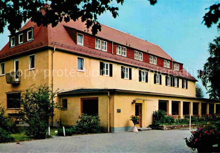 AK / Ansichtskarte Silberbach Eger Evangelisches Erholungsheim Haus Silberbach  Kat. Selb