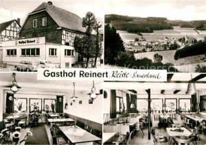 AK / Ansichtskarte Reiste Sauerland Gasthof Reinert Kat. Eslohe (Sauerland)