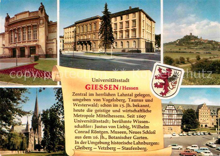 AK / Ansichtskarte Giessen Lahn Universitaetsstadt Kat. Giessen