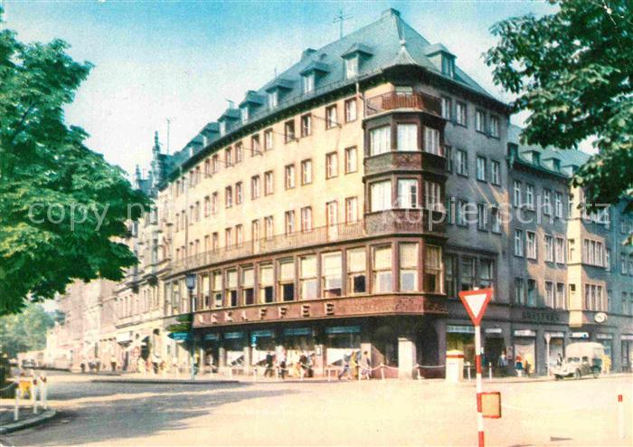 AK / Ansichtskarte Zwickau Sachsen Ringkaffee Kat. Zwickau
