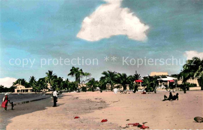 AK / Ansichtskarte Pointe Noire La Plage Kat. Pointe Noire