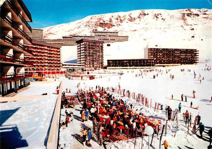 AK / Ansichtskarte Les Menuires Savoie Station des 3 Valles
