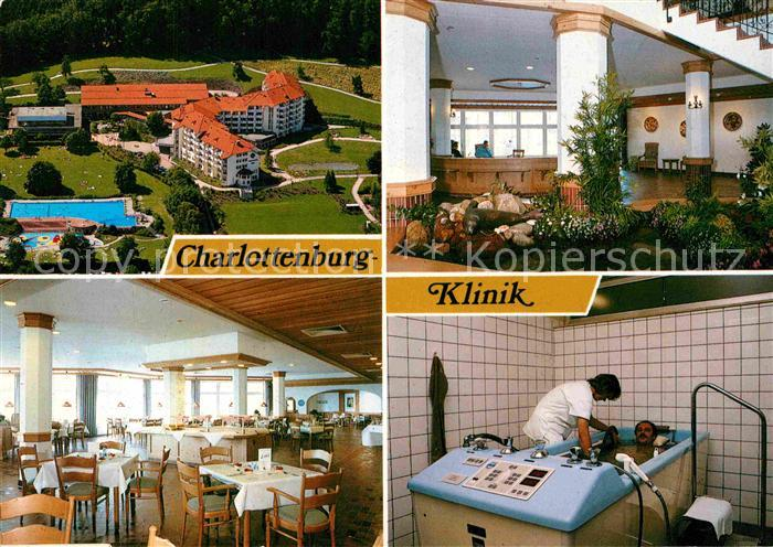 Ak Ansichtskarte Bad Essen Charlottenburg Klinik Kat Bad Essen