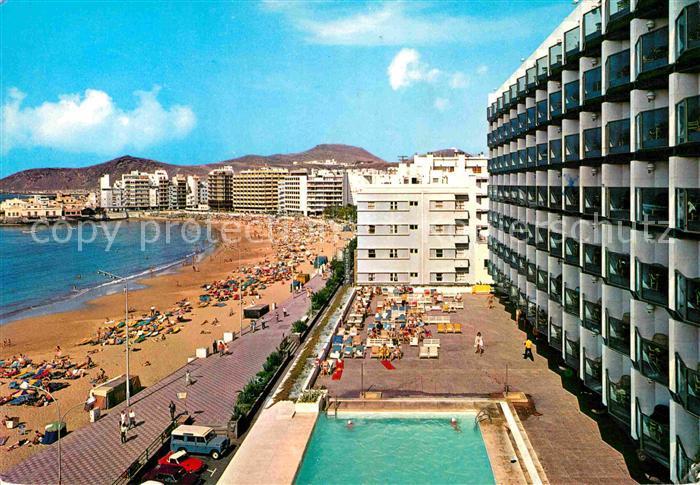 Ak Ansichtskarte Las Palmas Gran Canaria Hotel Cristina Kat Las