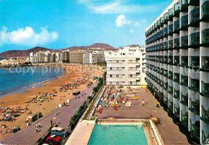 AK / Ansichtskarte Las Palmas Gran Canaria Hotel Cristina Kat. Las Palmas Gran Canaria