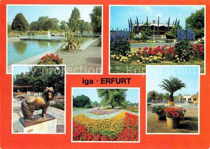 AK / Ansichtskarte Erfurt iga Kat. Erfurt