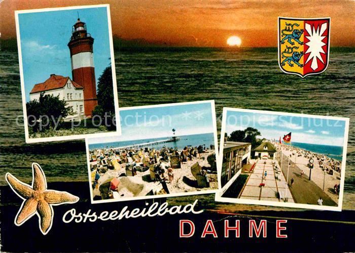 AK / Ansichtskarte Dahme Ostseebad Strand Leuchtturm Kat. Dahme