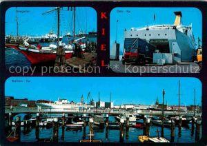 AK / Ansichtskarte Kiel Seegarten Boellhorn Kai Oslo Kai Kat. Kiel