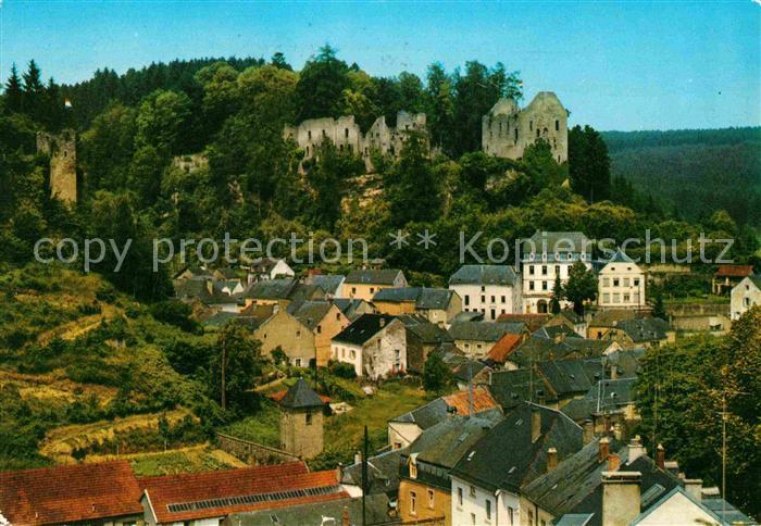 AK / Ansichtskarte Larochette Luxembourg Chateau Schloss Kat. Luxemburg