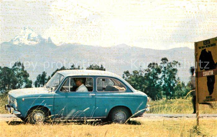AK / Ansichtskarte Autos Fiat 850 Equator  Kat. Autos