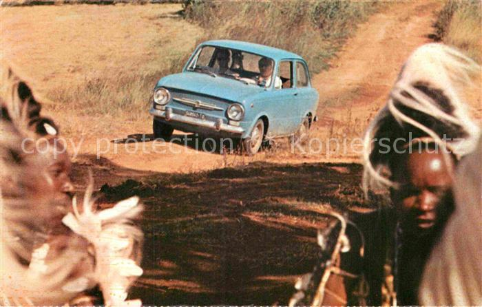 AK / Ansichtskarte Autos Fiat 850 Kenia Kenya  Kat. Autos