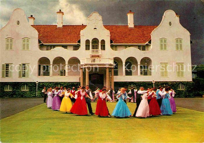 AK / Ansichtskarte Tanz Taenzer Folk Dancers Residence State President Pretoria