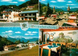 AK / Ansichtskarte Oberau Berchtesgaden Gasthof Pension Priesterstein  Kat. Berchtesgaden