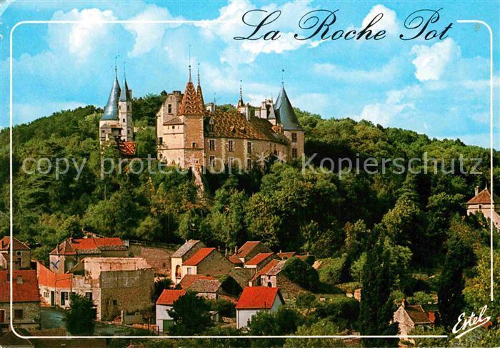 AK / Ansichtskarte Chagny Saone et Loire La Roche Pot Schloss Kat. Chagny