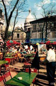 AK / Ansichtskarte Paris Place du Tertre Kat. Paris