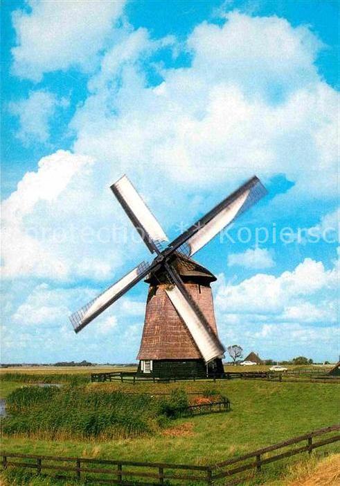 AK / Ansichtskarte Schermerhorn Boven molen E Windmuehle Kat. Niederlande