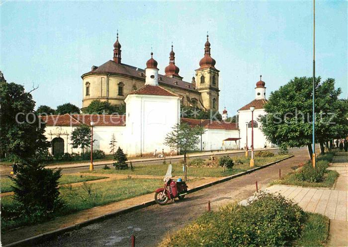 AK / Ansichtskarte Bohosudov Kirchenpartie Kat. Mariaschein