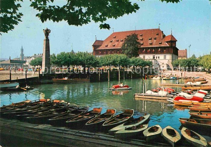 AK / Ansichtskarte Konstanz Bodensee Konzil Hafen  Kat. Konstanz
