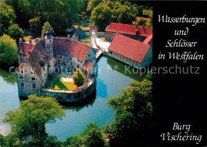 AK / Ansichtskarte Luedinghausen Fliegeraufnahme Burg Vischering Kat. Luedinghausen